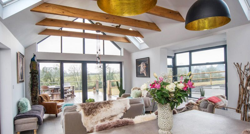 Superior Living Room Extension Internal View